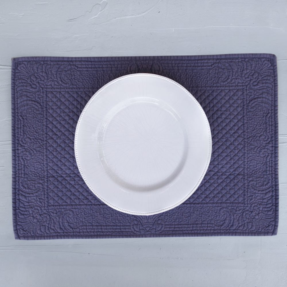 Placemat from Provence in Gris colour