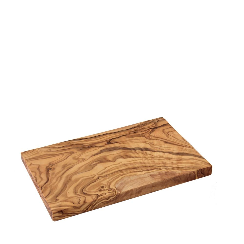 Rectangular olive wood board from Provence