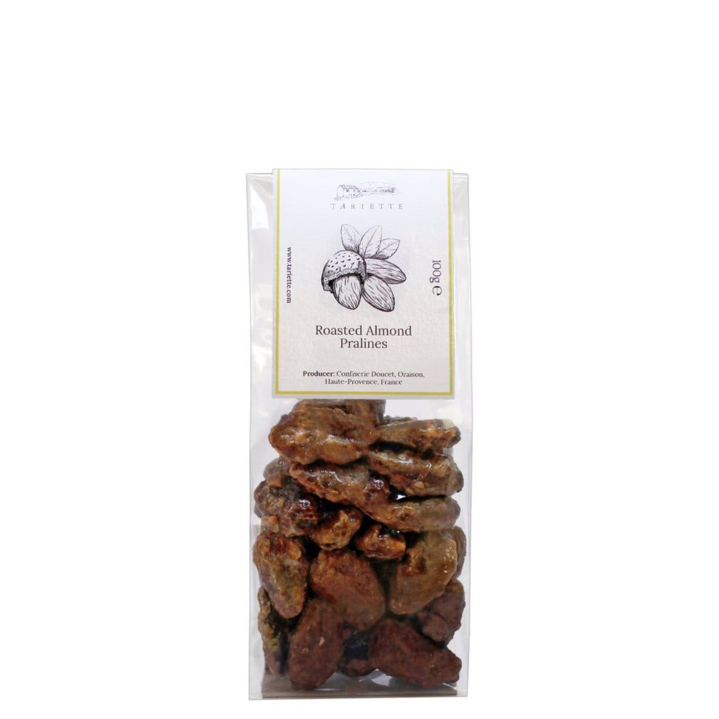 Bag of roasted almond pralines