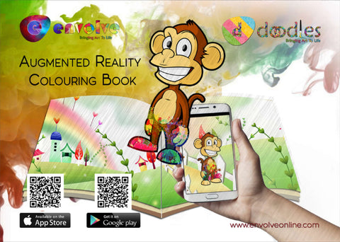 Envolve Augmented Reality 'Bunny' Colouring Book