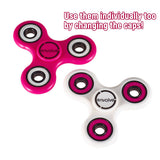Envolve STACK AND SPIN Fidget Spinner (Pink/White)