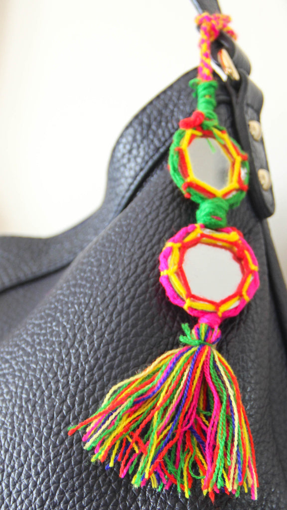 Gypsy Twin Mirror Bag Charm