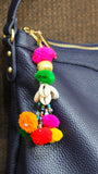 Gypsy Kaudi and Pom-Pom Bag Charm