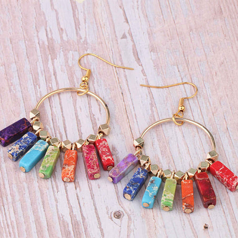 Boho Chich Stone Earrings