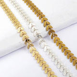 Gold Plated Fishtail Chains PJ134