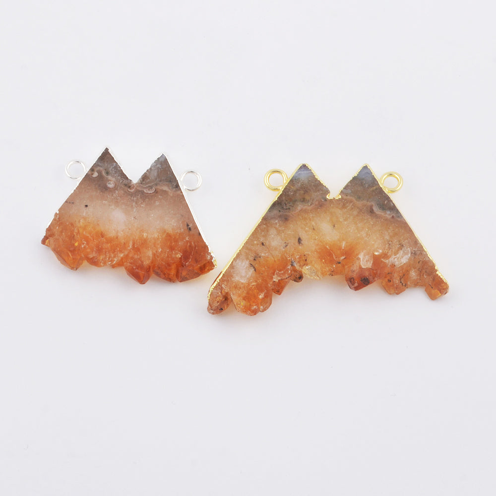Mountain Shape Natural Slice Cirtine Connector WX1792