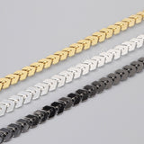 1 Meter Brass Metal Fishtail Chain PJ071