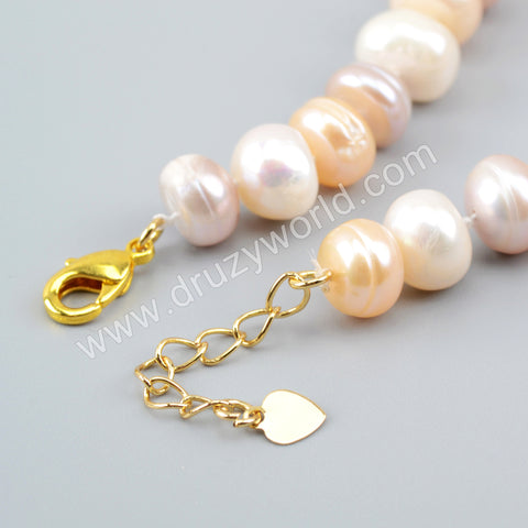 Natural Pearl Beads Bracelet Adjustable Bracelet For Women HD0239