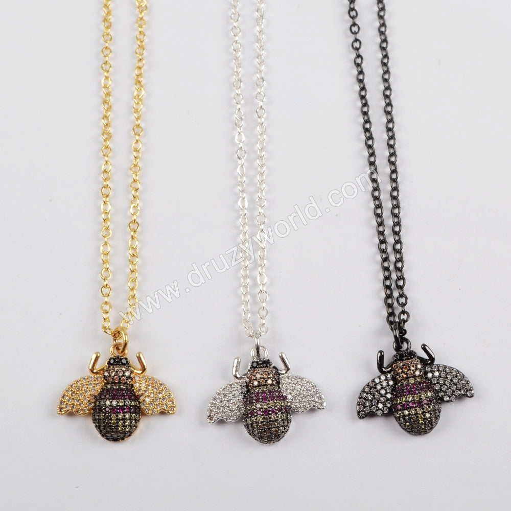 Dung Beetles Shape Necklace