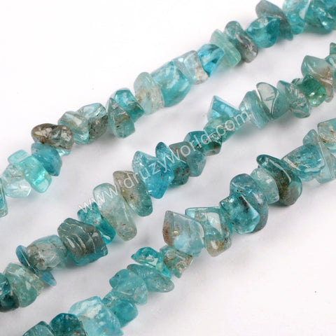 Polished Apatite Chips Loose Beads LS024