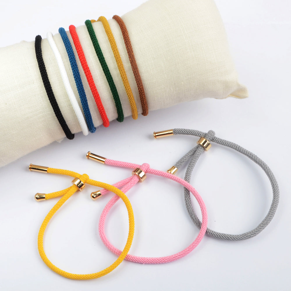 Color Rope Bracelet Accessories Jewelry Making PJ447
