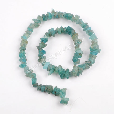Raw Apatite Chips Loose Beads LS025