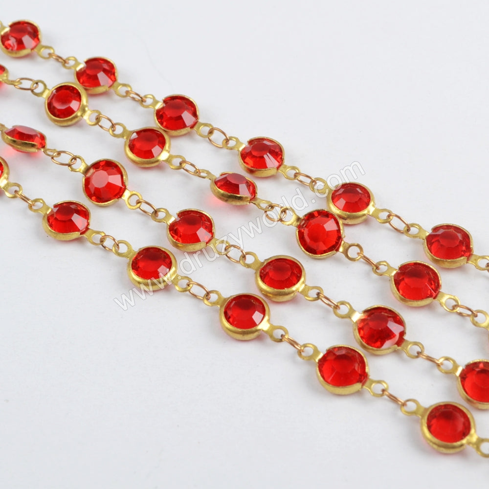 Red Rosary Chain