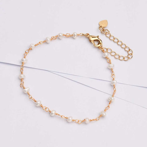 Natural Pearl Freshwater Baroque Pearl Bracelet Necklace
