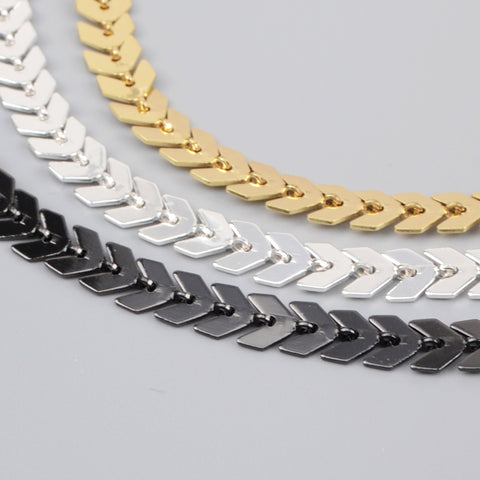 Metal Fishtail Chain PJ071