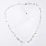 "18"" Fishtail Connector Chain Necklace PJ090"