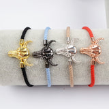 Ox Head Cotton Rope Bracelet WX700