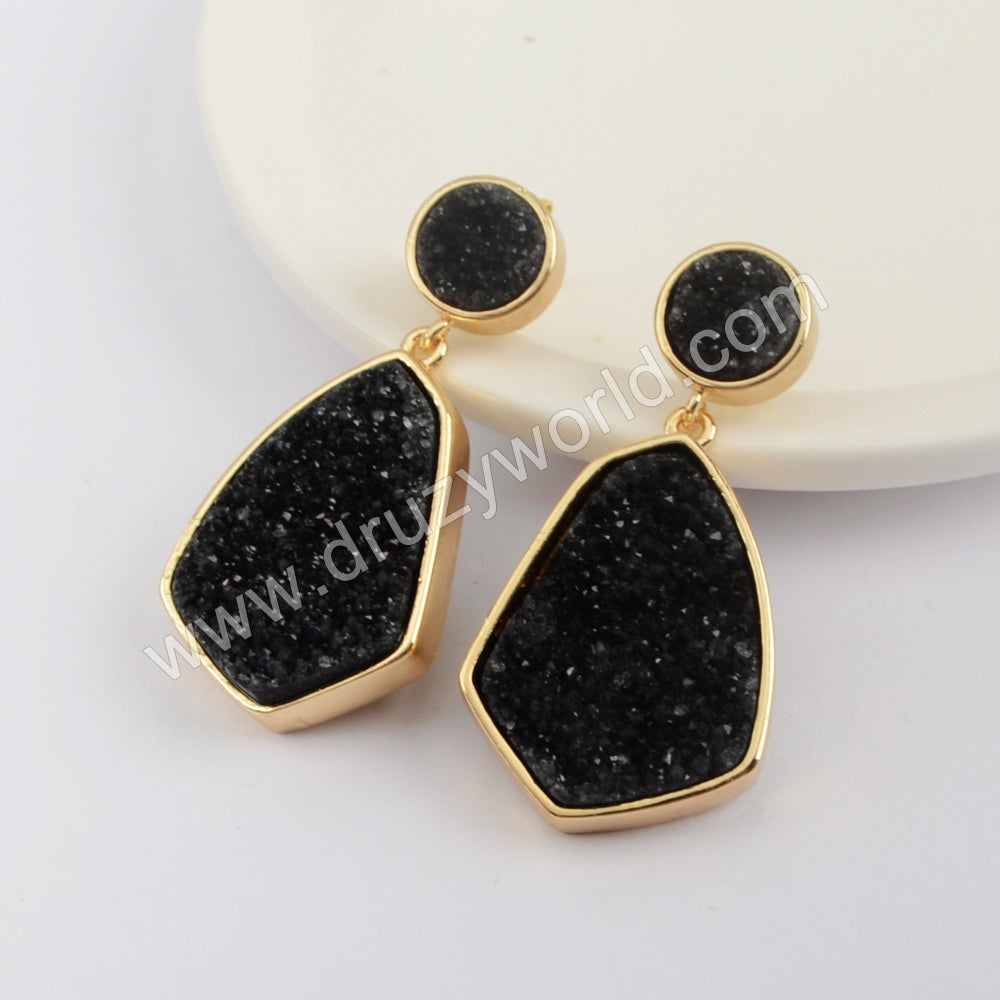 Gold Plated Gold Claw Earrings WX1281