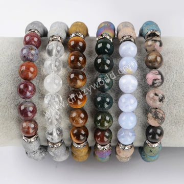 Gemstones Beads Bracelet