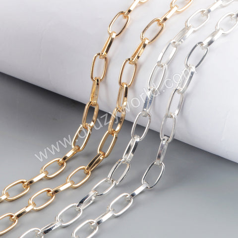 Trend Chains Making Jewelry Supply in Gold/Silver Plated PJ472-G