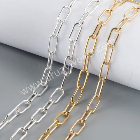 Trend Chains Making Jewelry Supply in Gold/Silver Plated PJ473-G
