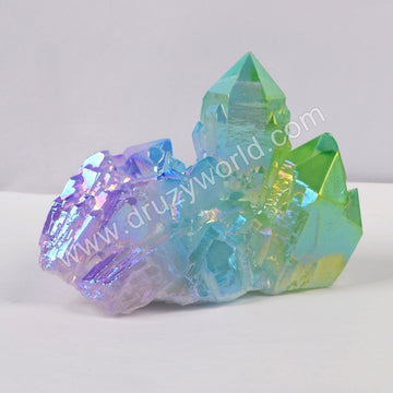 Mixed Color Crystal Cluster