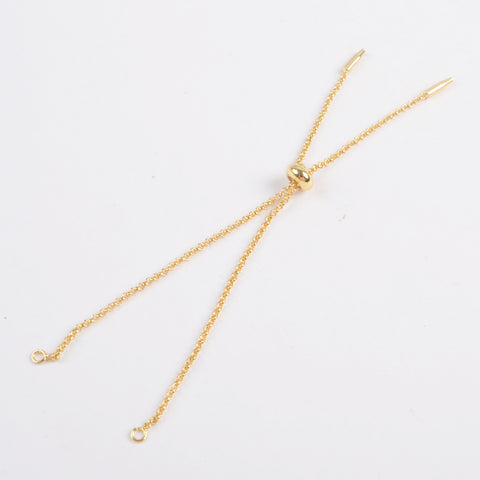 Gold Adjustable Chain Bracelet PJ290