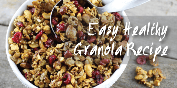 RECIPE: 20 Minute Granola, Voila!