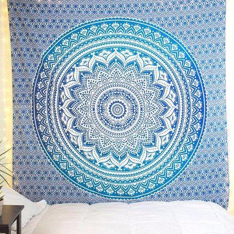 Flower Power Queen Throw - Pure People