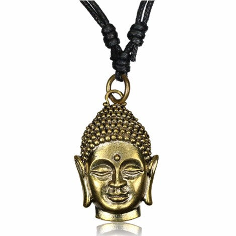 Brass Buddha Head Pendant-Pure People