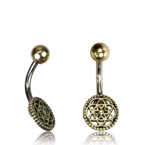 Flower of Life Bellyring-Pure People