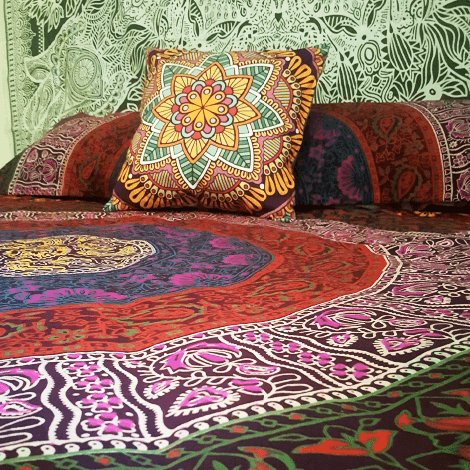 Boho Bed Spread-Pure People