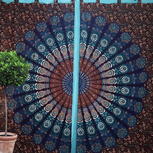 Sacred Circles Curtains - Pure People