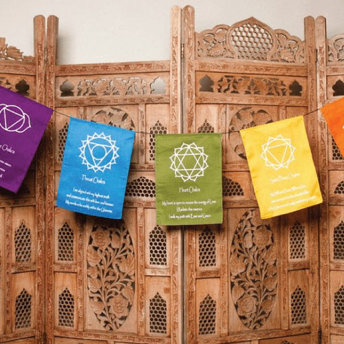 Chakra Flags-Pure People
