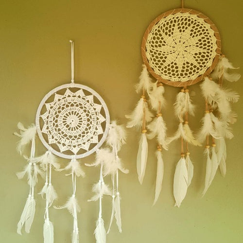Day-Dreamer Crochet Dreamcatcher-Pure People