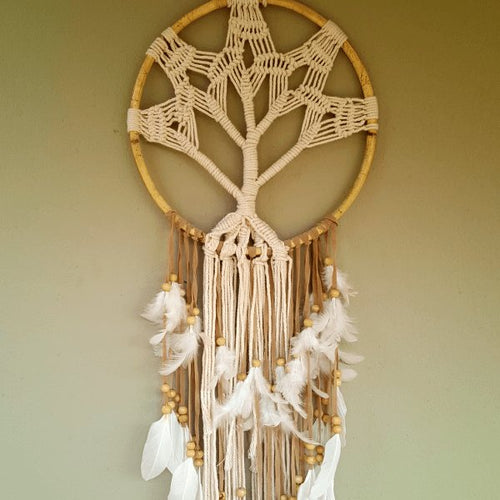 Tree of Life Macrame Dreamcatcher-Pure People