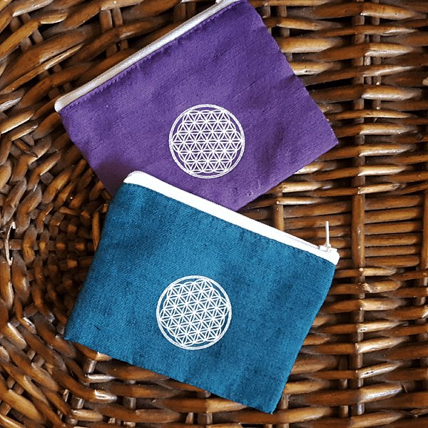 Flower of Life Coin Purse-Pure People