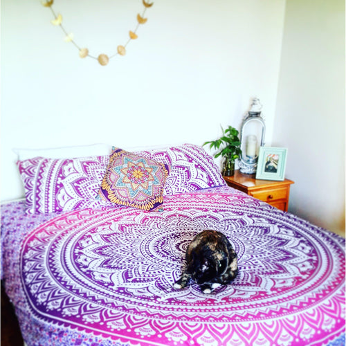 Flower Power Bed Spread