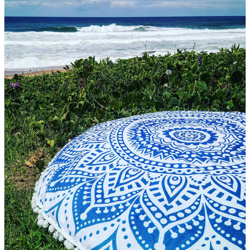 Flower Power Floor Cushion - Pure People