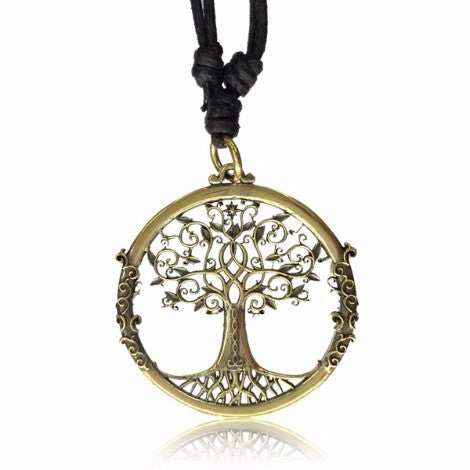 Brass Tree of Life Pendant-Pure People