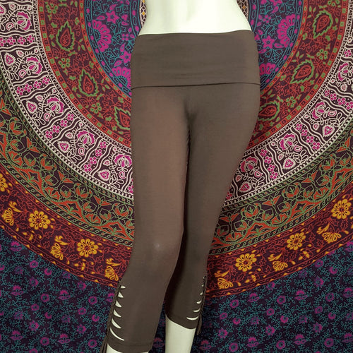 Charcoal Warrior Leggings - Pure People