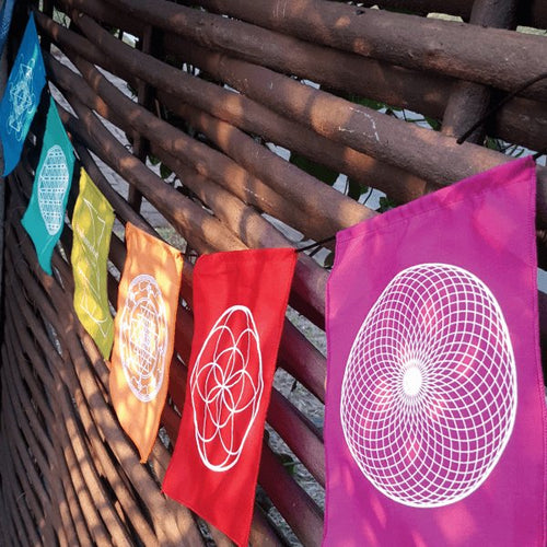 Sacred Geometry Flags - 25% OFF! - Pure People