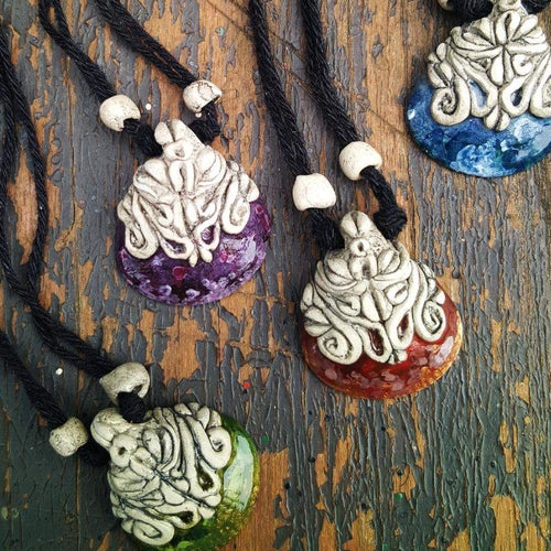 Ocean Warrior Shell Pendants - Pure People
