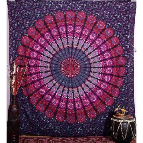 Sacred Circles Queen Throw - Pure People