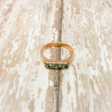Raw Pyrite Minimalist Stacking Ring - Rings -Glam Geek