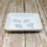 Gold or Silver Gems Ring Dish - Glam Geek