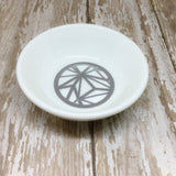 Gold or Silver Geometric Round Ring Dish - Glam Geek