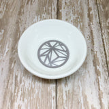 Gold or Silver Geometric Round Ring Dish - Ring Dish -Glam Geek