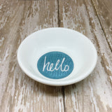 Hello Round Ring Dish - Glam Geek