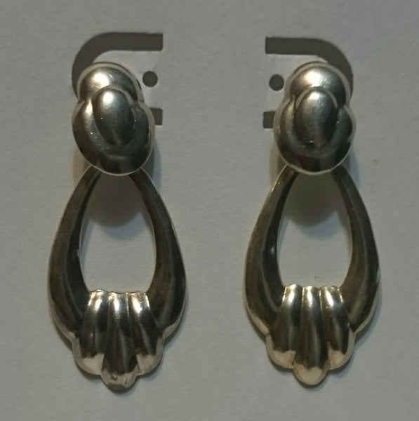 Vintage Sterling Silver Post Earrings